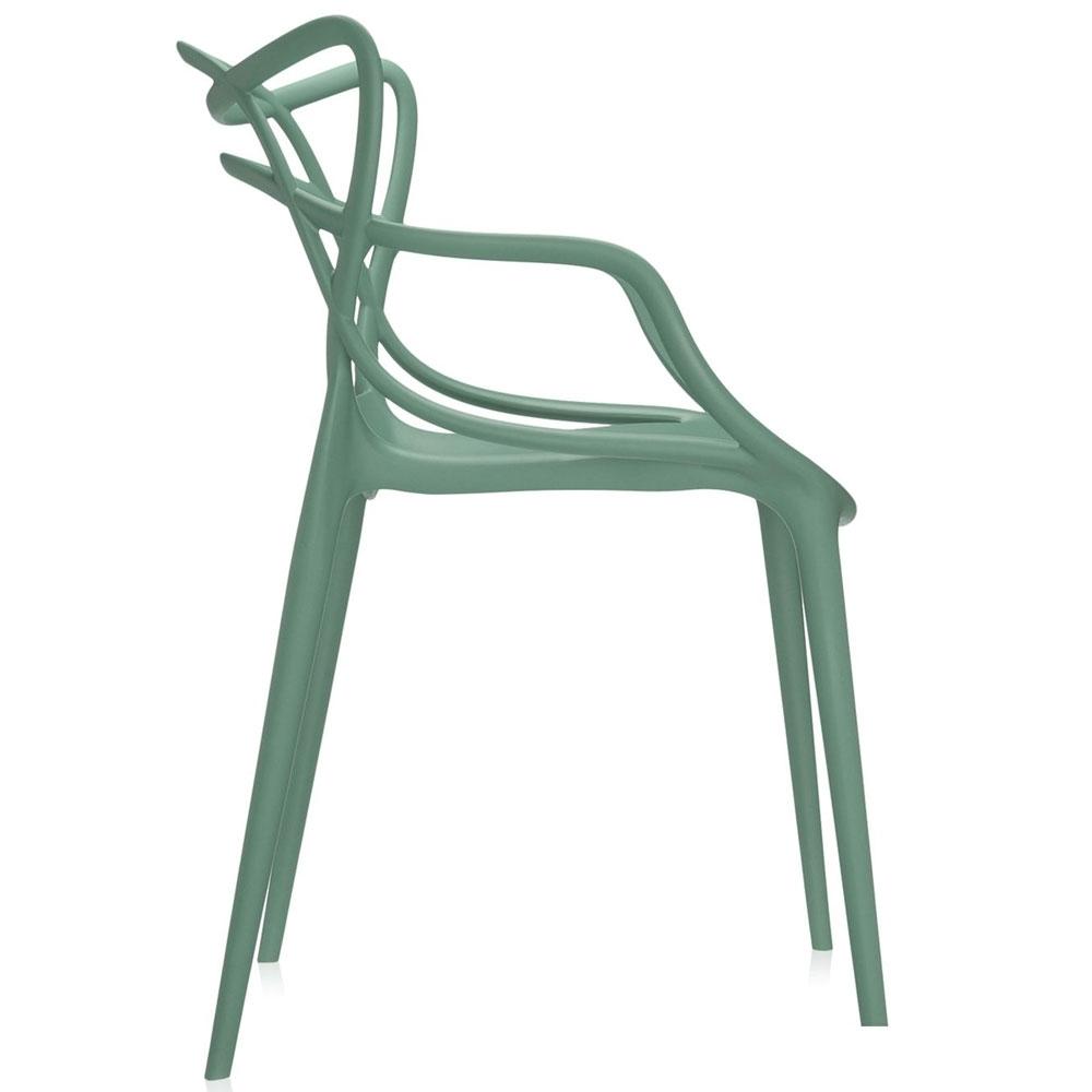 kartell masters stuhl salbeigr n nunido. Black Bedroom Furniture Sets. Home Design Ideas