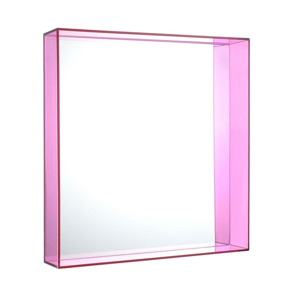kartell only me miroir mural petit rose nunido. Black Bedroom Furniture Sets. Home Design Ideas