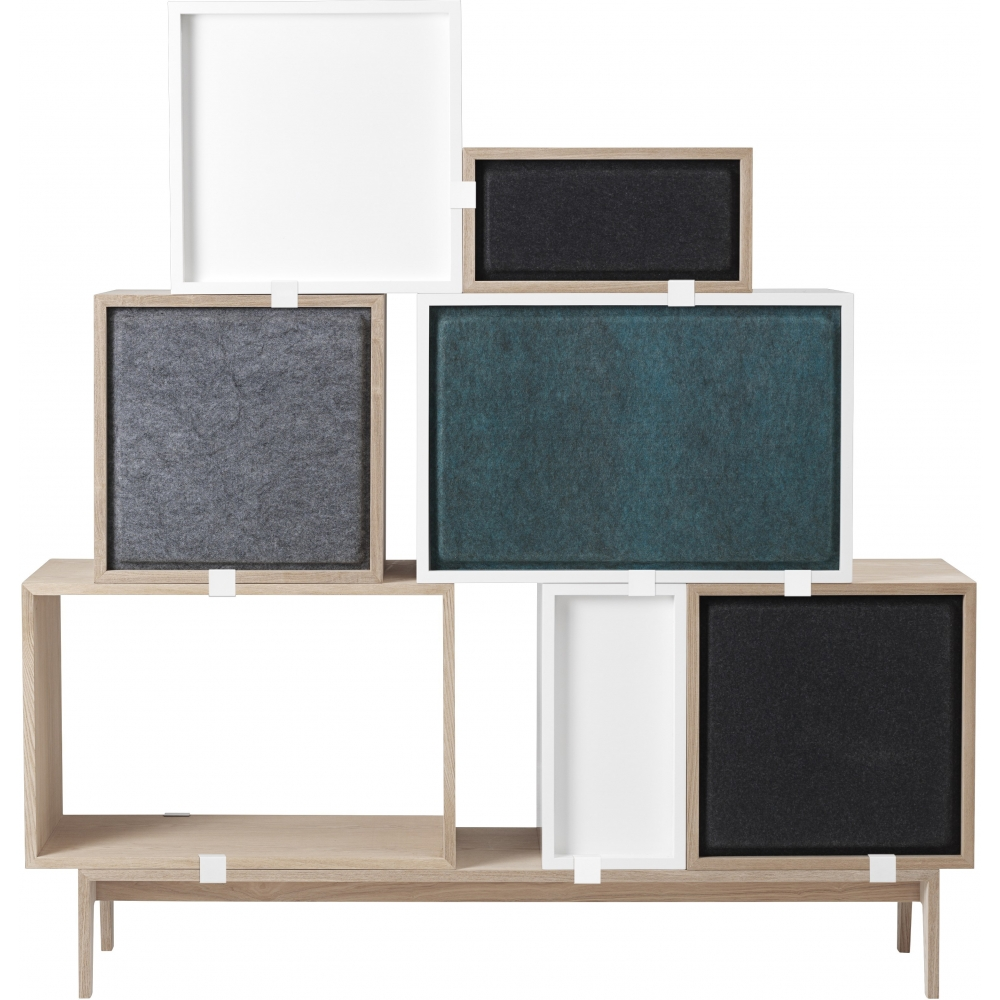 Muuto Regal muuto acoustic panels für stacked regal nunido