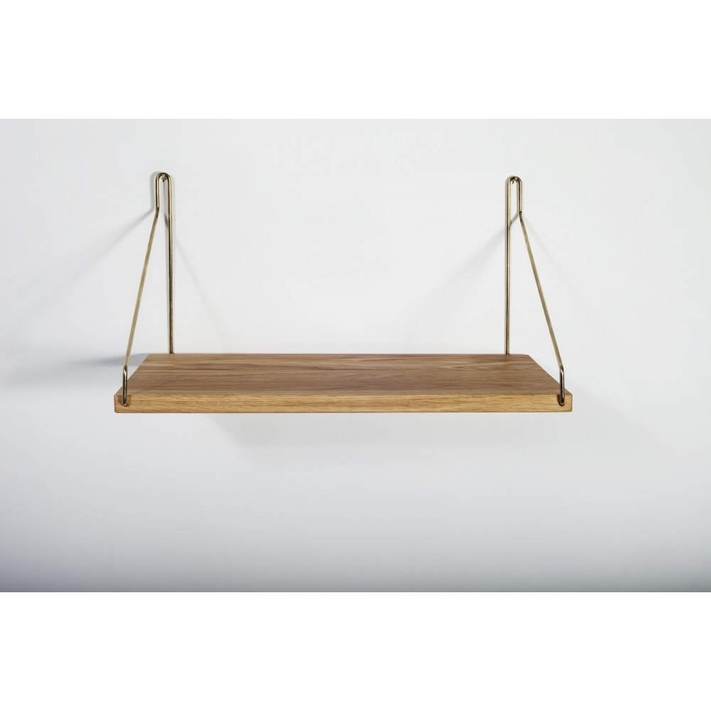 frama shelf regal 40 x 20 cm messing nunido. Black Bedroom Furniture Sets. Home Design Ideas