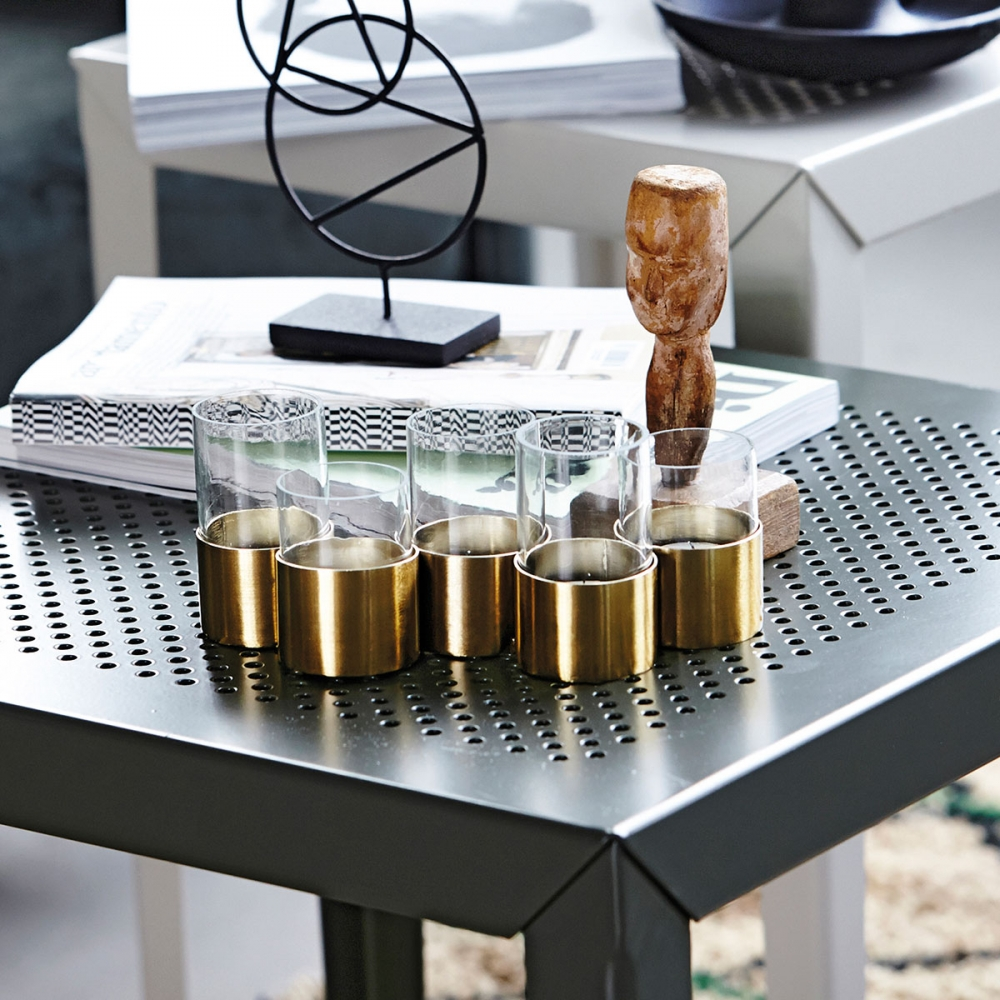 house doctor t5 vase kerzenst nder nunido. Black Bedroom Furniture Sets. Home Design Ideas