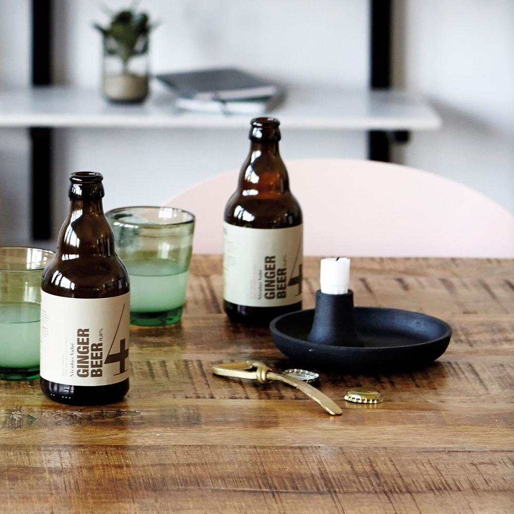 house doctor circle kerzenst nder kupfer nunido. Black Bedroom Furniture Sets. Home Design Ideas