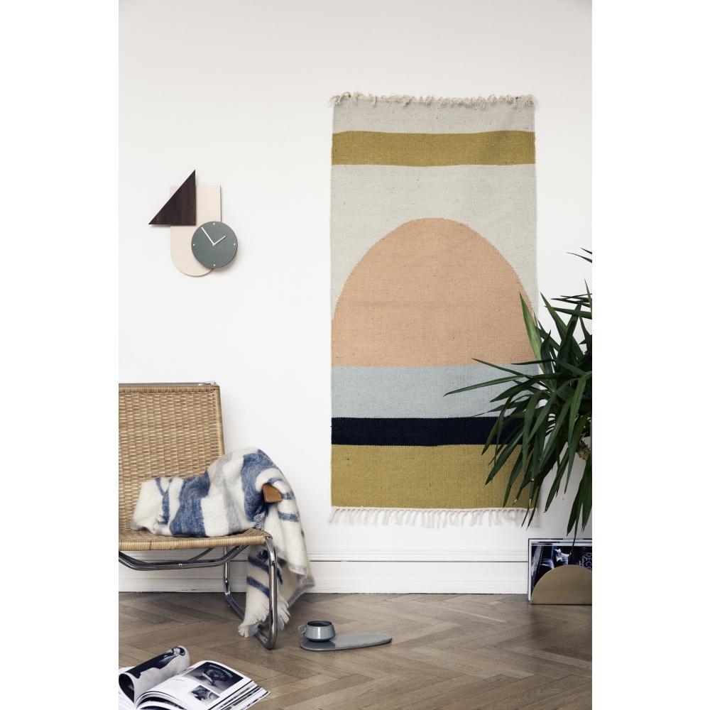 ferm living kelim semicircle teppich nunido. Black Bedroom Furniture Sets. Home Design Ideas