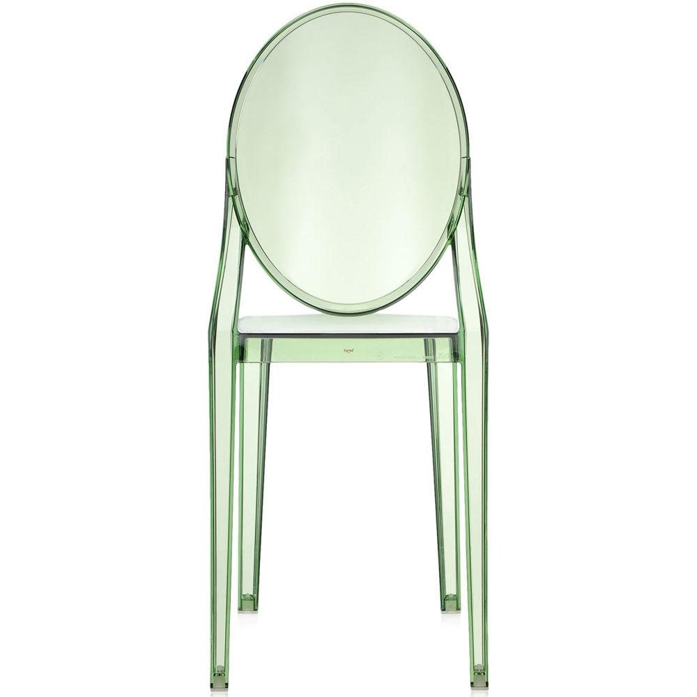 kartell victoria ghost stuhl gr n nunido. Black Bedroom Furniture Sets. Home Design Ideas