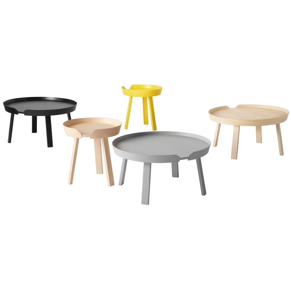 muuto around coffee table nunido. Black Bedroom Furniture Sets. Home Design Ideas