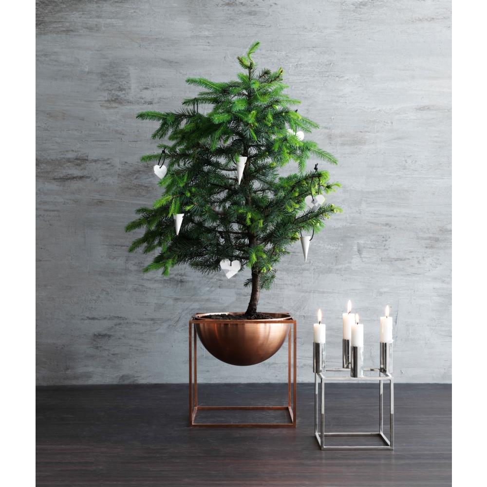 by lassen kubus 4 kerzenst nder nunido. Black Bedroom Furniture Sets. Home Design Ideas