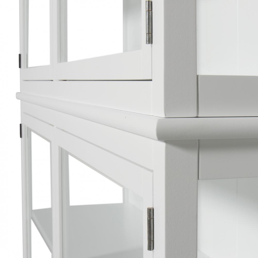 oliver furniture seaside glass cabinet with legs nunido. Black Bedroom Furniture Sets. Home Design Ideas