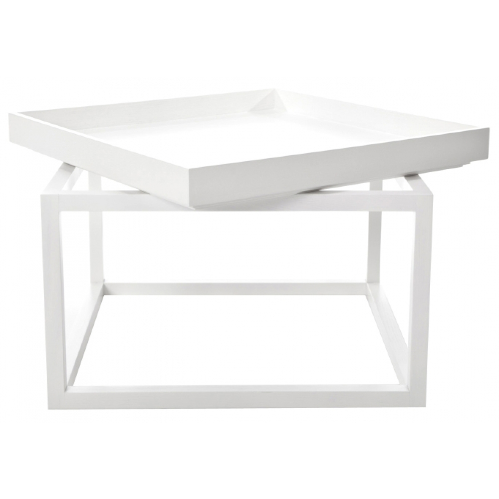 Norr11 Coffee Table Tray: Norr11 - Coffee Table Time, White