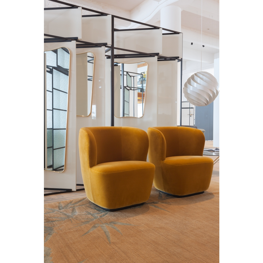 Gubi Stay Lounge Chair With Swivel Base Nunido