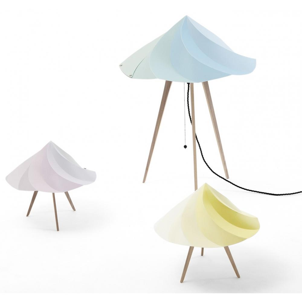 moustache chantilly kleine tischlampe nunido. Black Bedroom Furniture Sets. Home Design Ideas