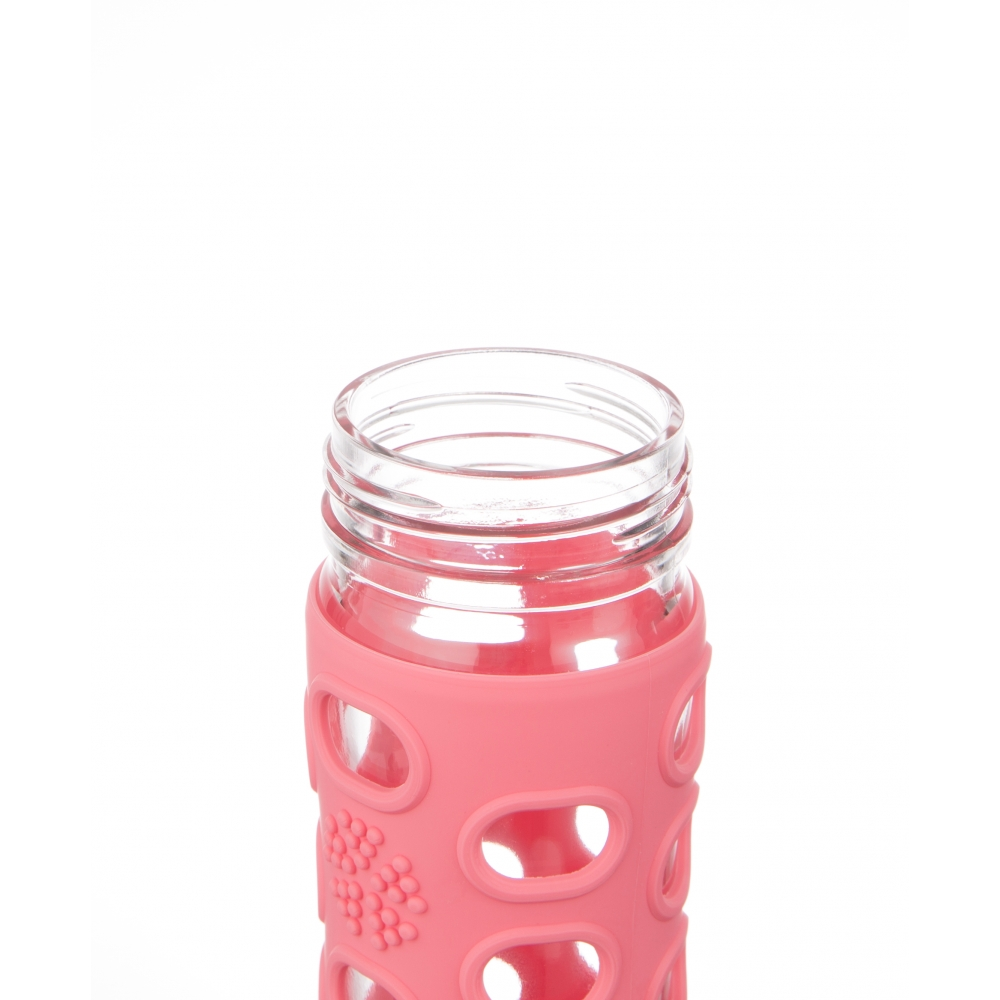 Lifefactory Straw Cap Glass Bottle Nunido
