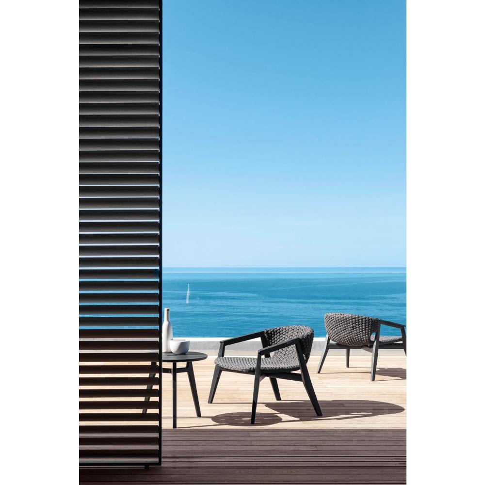 ethimo knit beistelltisch nunido. Black Bedroom Furniture Sets. Home Design Ideas
