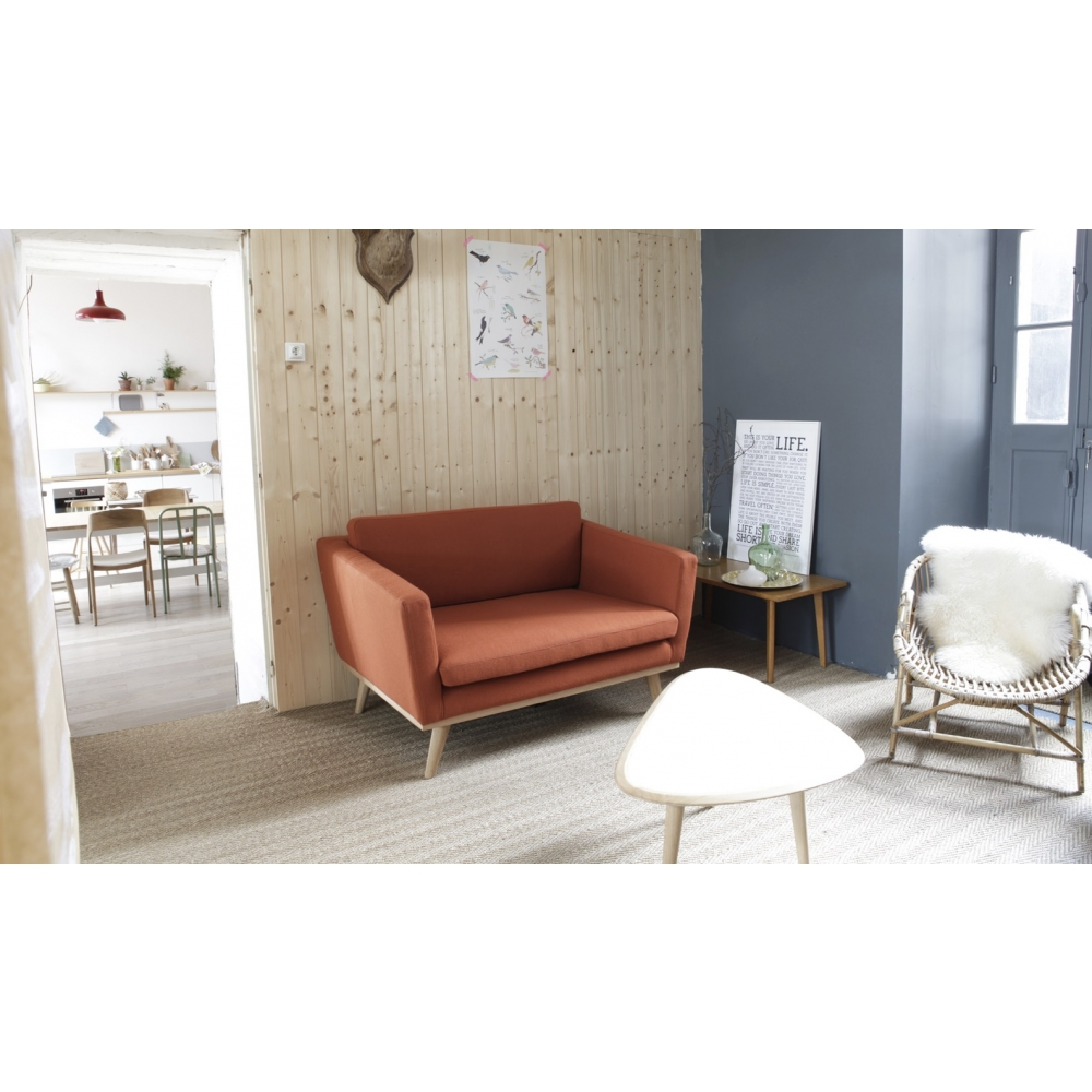 Red edition fifties 120 sofa nunido for Canape 120 red edition