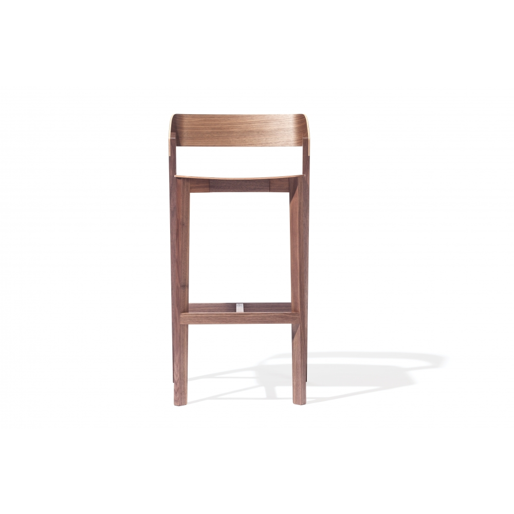 Ton merano barhocker holz nunido for Barhocker holz outdoor