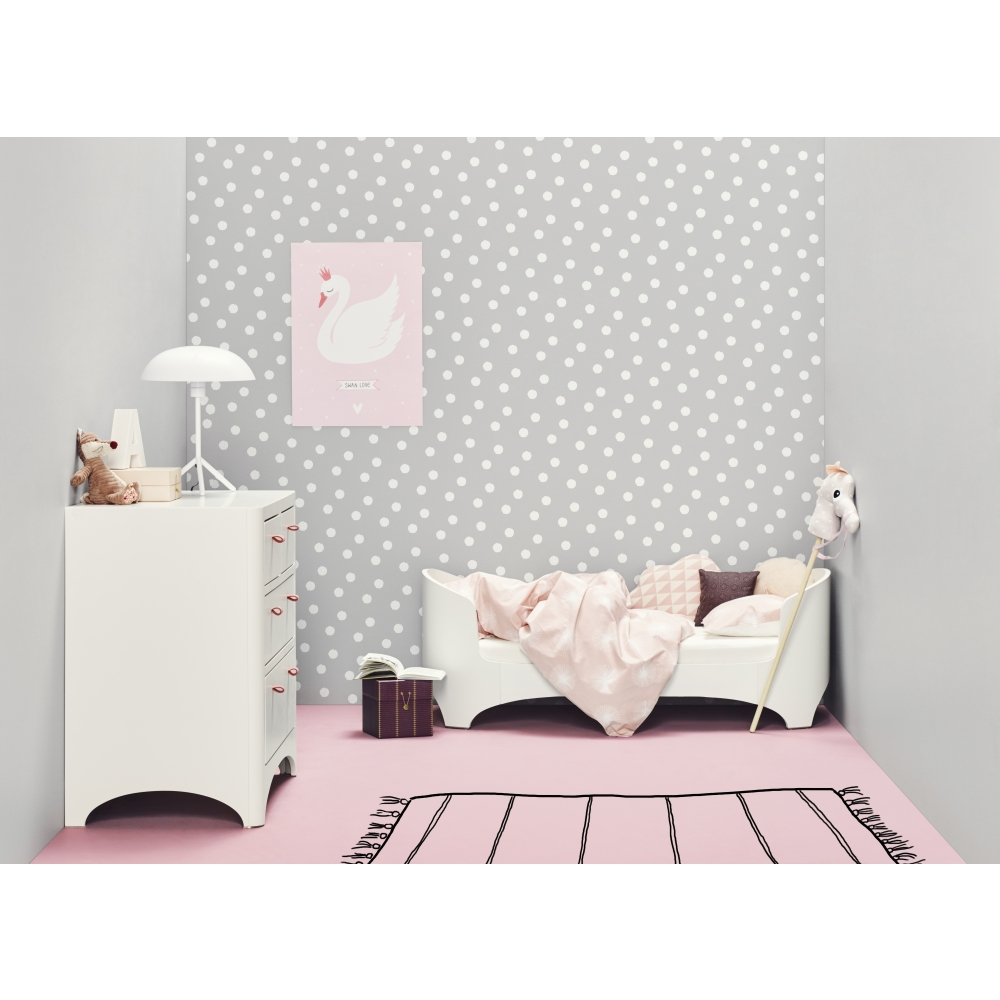 leander babybett inkl juniorkit wei premium 7 nunido. Black Bedroom Furniture Sets. Home Design Ideas