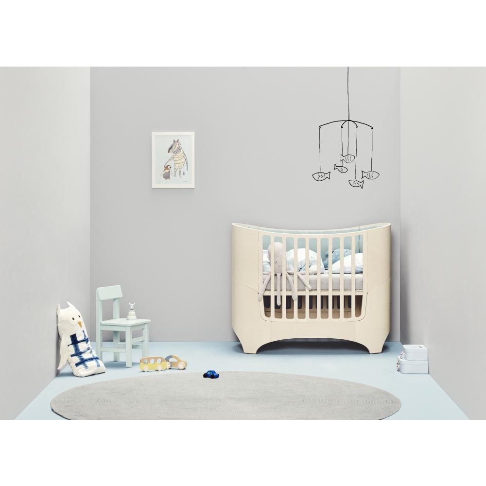 Leander Baby Cot Incl Juniorkit Nunido