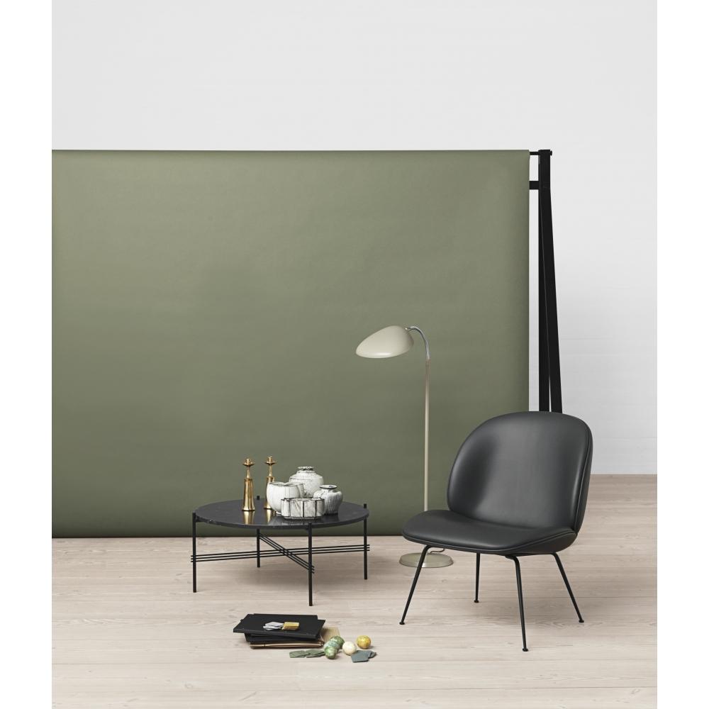 gubi ts couchtisch rund 40 cm marmor braun schwarz. Black Bedroom Furniture Sets. Home Design Ideas