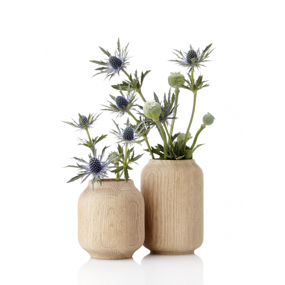 applicata poppy vase klein eiche natur nunido. Black Bedroom Furniture Sets. Home Design Ideas