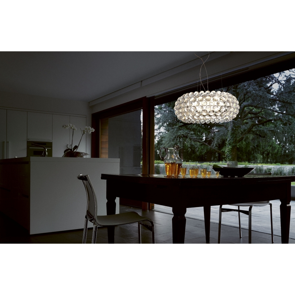 foscarini caboche sospensione grande pendelleuchte led. Black Bedroom Furniture Sets. Home Design Ideas