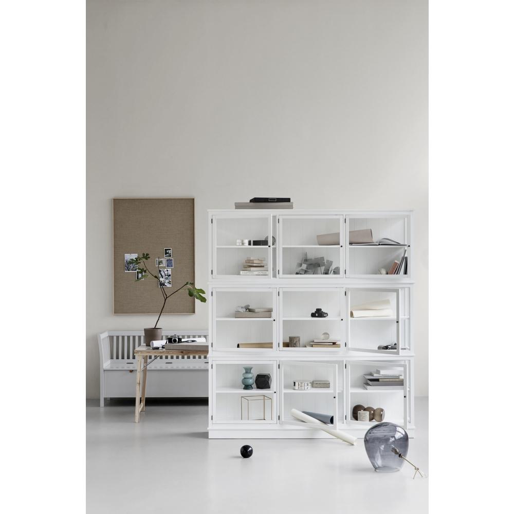 oliver furniture seaside bench large gray nunido. Black Bedroom Furniture Sets. Home Design Ideas
