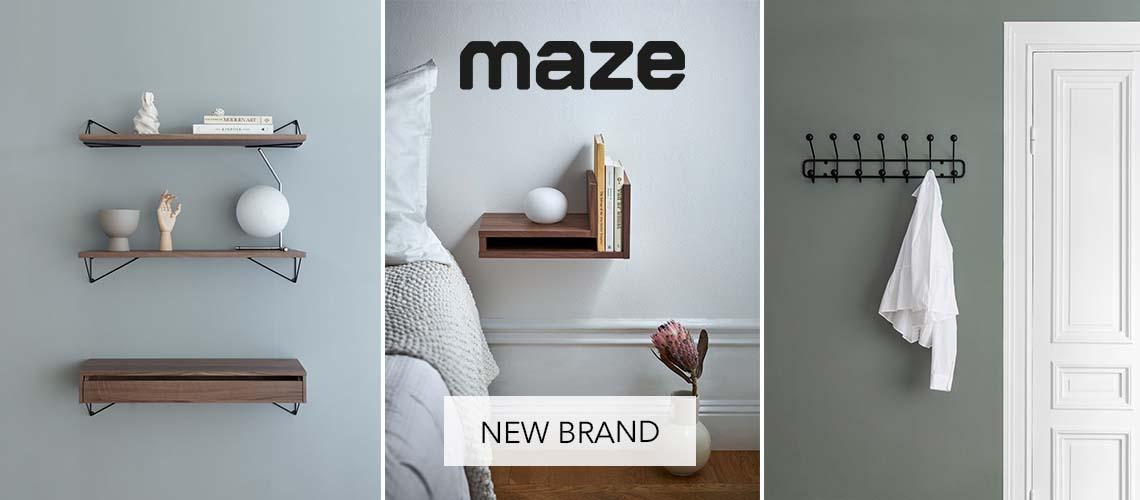 Banner maze